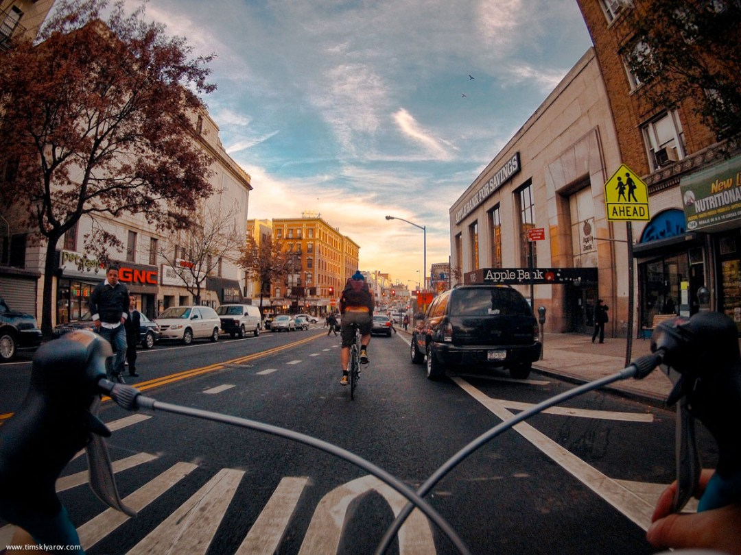 New York through the eyes of a Road Bicycle :: Tim Sklyarov