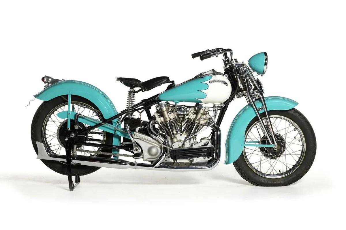 Top ten rare motorcycles for sale bonhams quail lodge for Crocker motors used cars