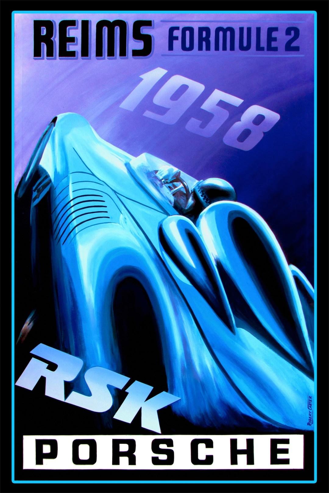 Robert Carter :: Porsche RSK