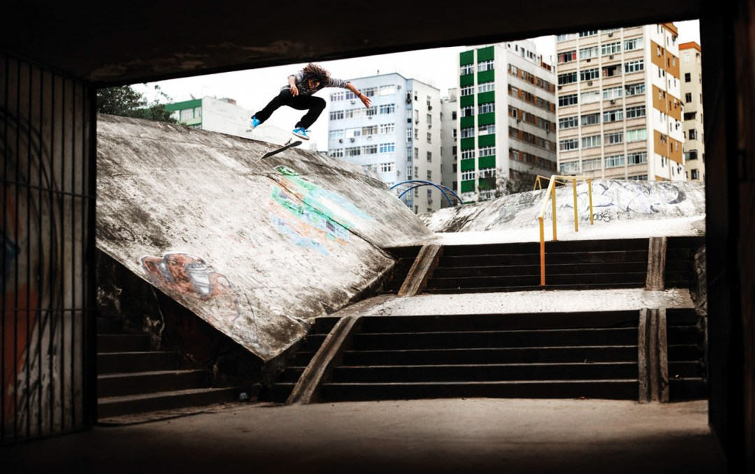 Benny Fairfax. Kickflip. Sao Paulo