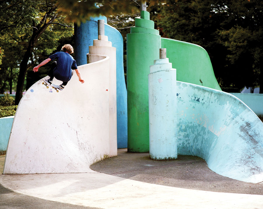 Silas Baxter-Neal. Frontside Ollie. Osaka