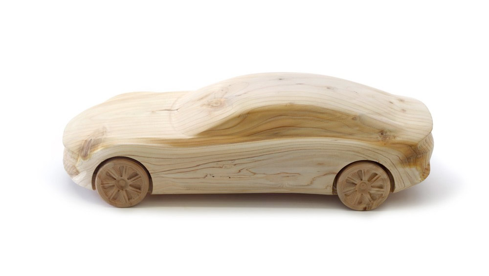 Wood Models From Pininfarina - CAMBIANO-2012