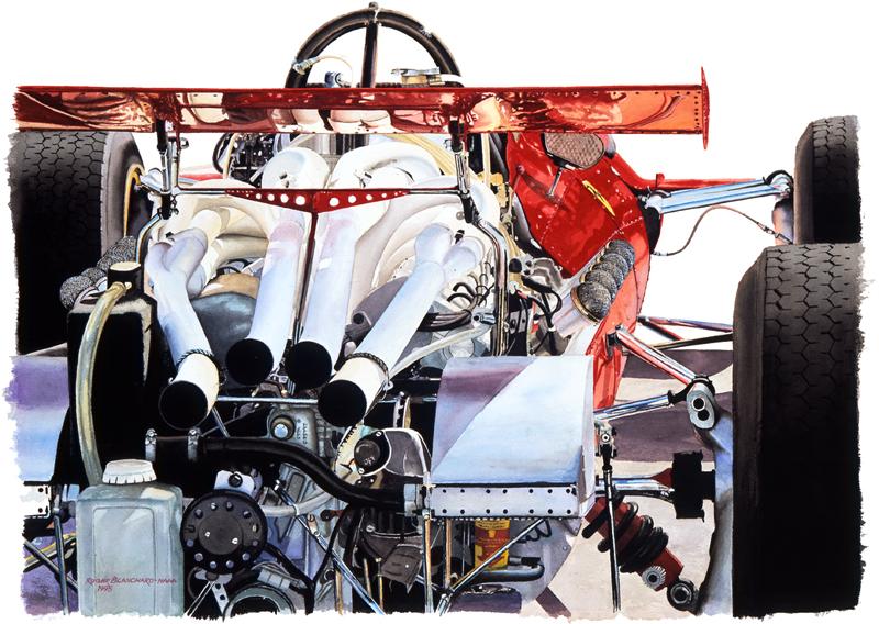 1968 Ferrari 312 Formula One