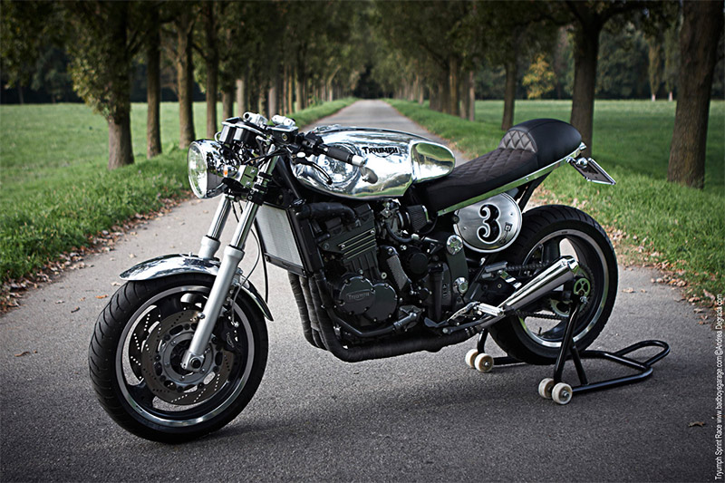 Triumph Sprint 900 Cafe Racer via Return of the Cafe Racers