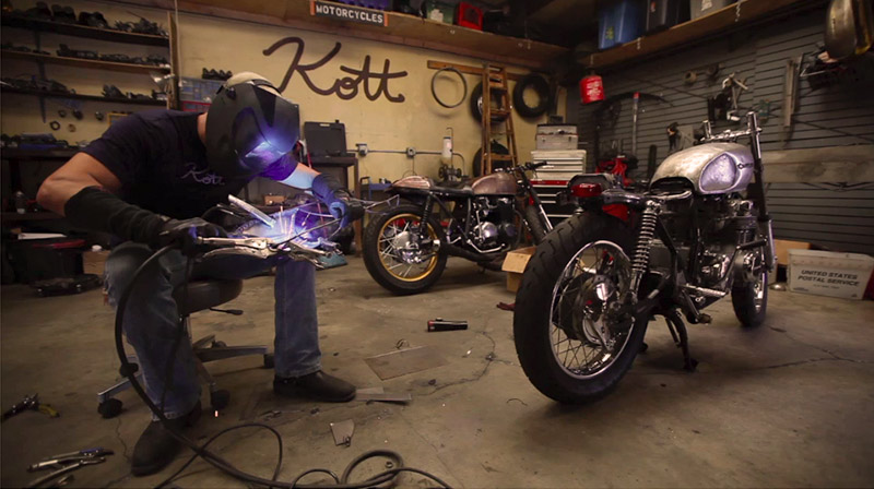Kott Motorcycles :: A Film by Ryan Buller