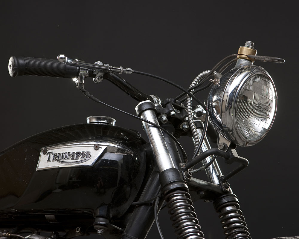 1978 Triumph 750 Bonneville 750CC T120 :: via The 1 Moto