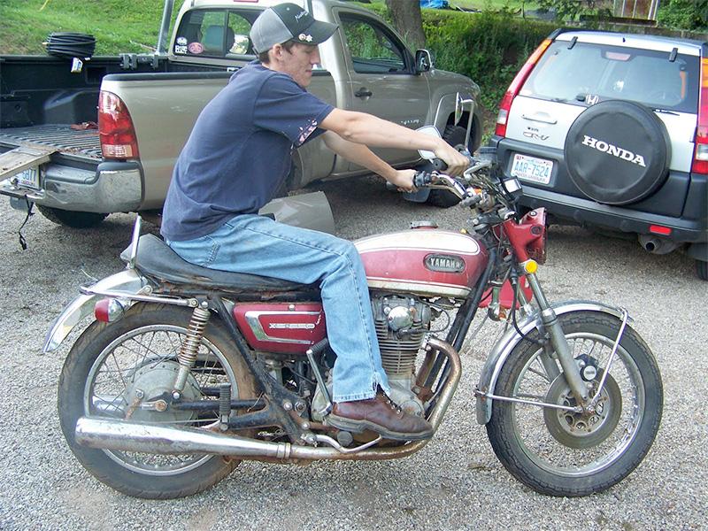 Tevan Morgan's 1972 Yamaha XS2
