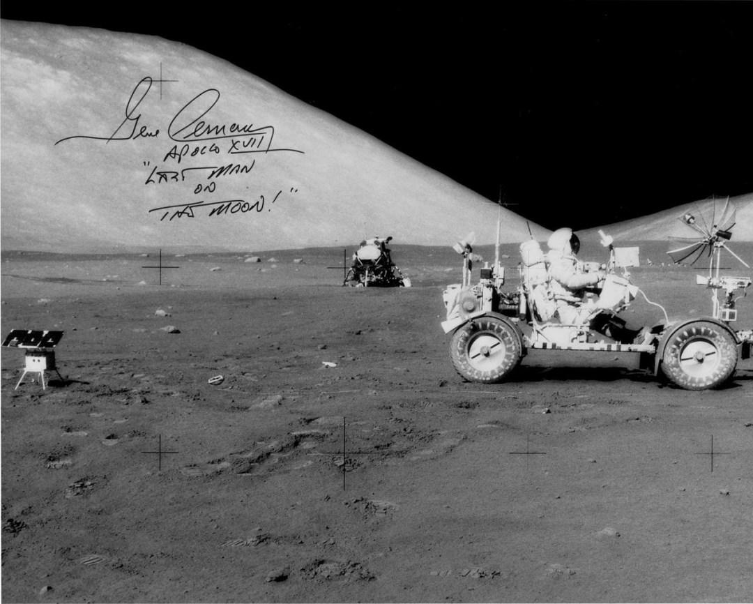 Lunar Rover during Apollo 17