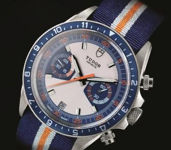 Tudor Heritage Chrono Blue 70330B (1)