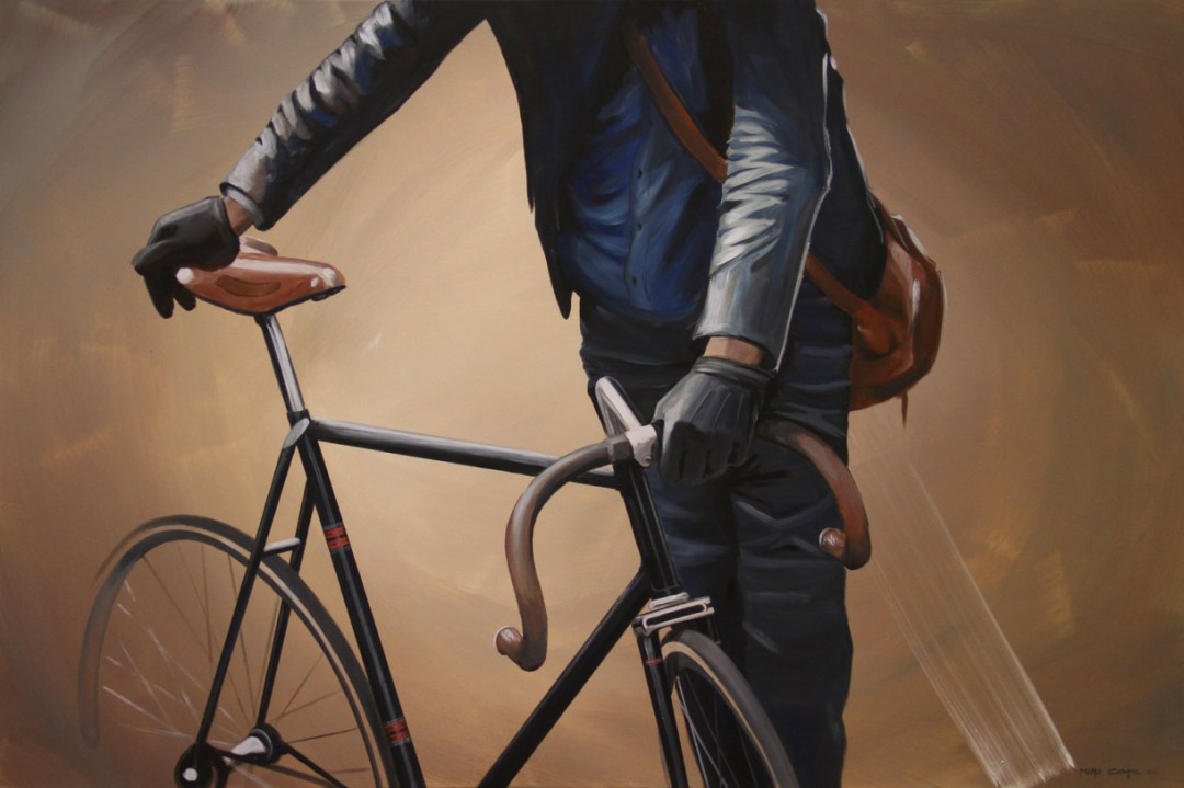 Bike for Life, Realistic Bicycle Paintings by Manu Campa :: GBlog