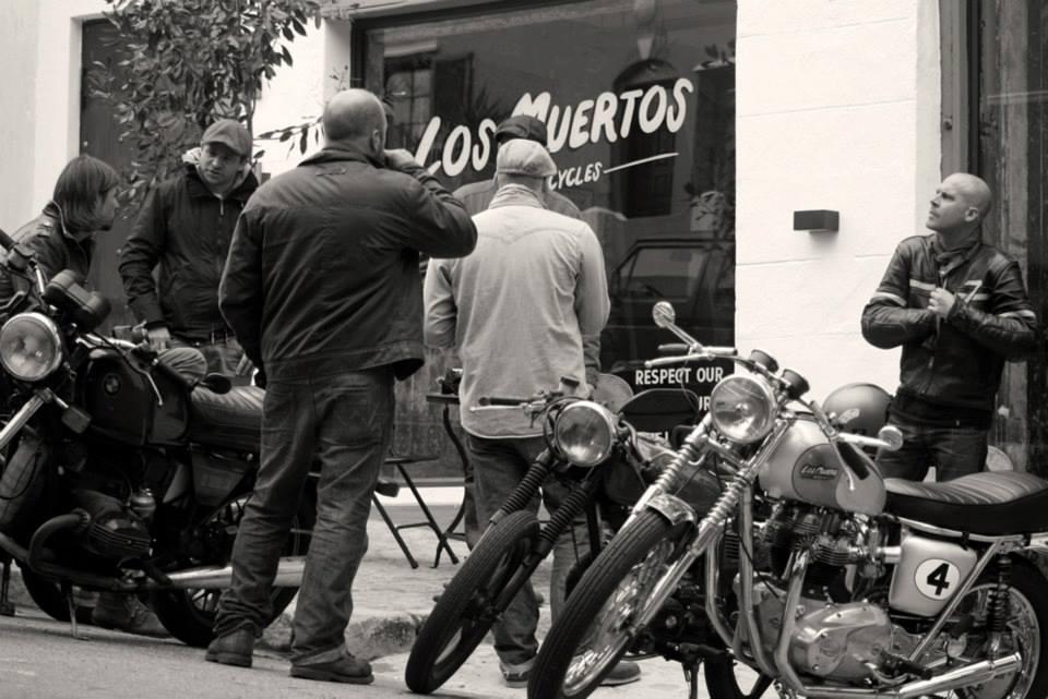 Los Muertos Motorcycles :: via I Love Coffee