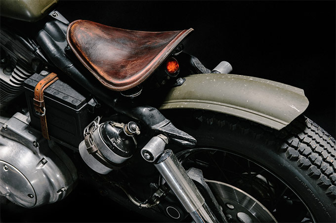 "1997 HD 883 Sportster ""The Witch"" :: Lorenz Richard"