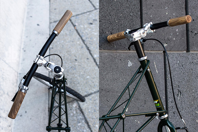 Sustainable Bike Grips by Pecker Design