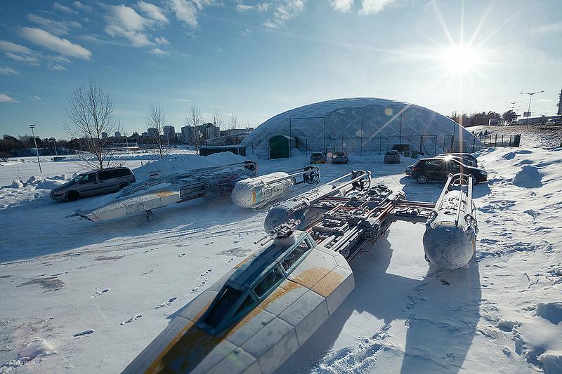Star Wars Scale Model Project