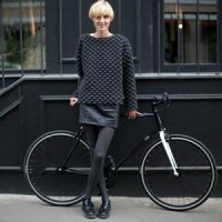 Moscow's Bicycle Riding Fashionistas :: Alena Chendler