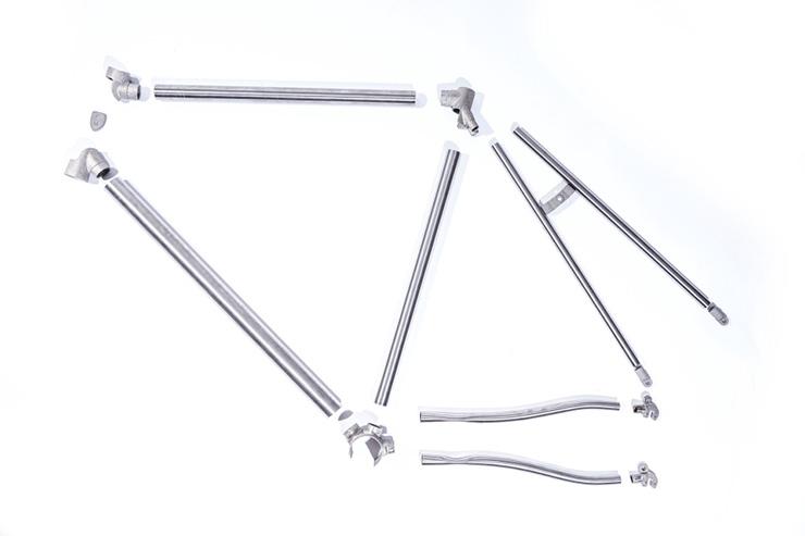 FM-3D Printed - Titanium Bicycle 12