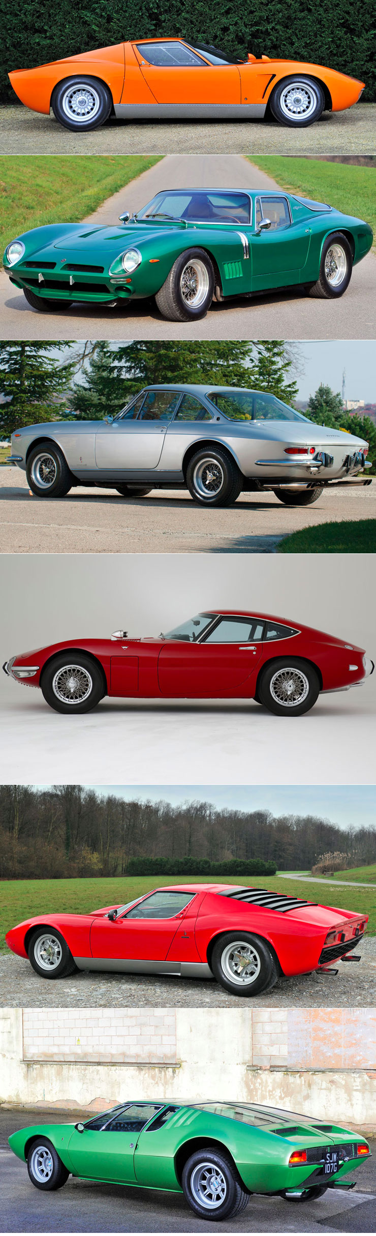 Six Swinging Sixties Supercars From The Monaco Auction