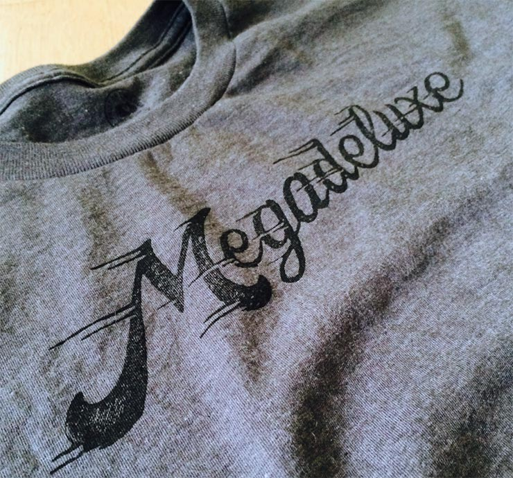 Megadeluxe Stamped T-Shirt