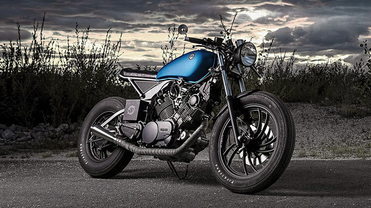 "Yamaha XV 750 ""Cosmic"" by ER motorcycles"