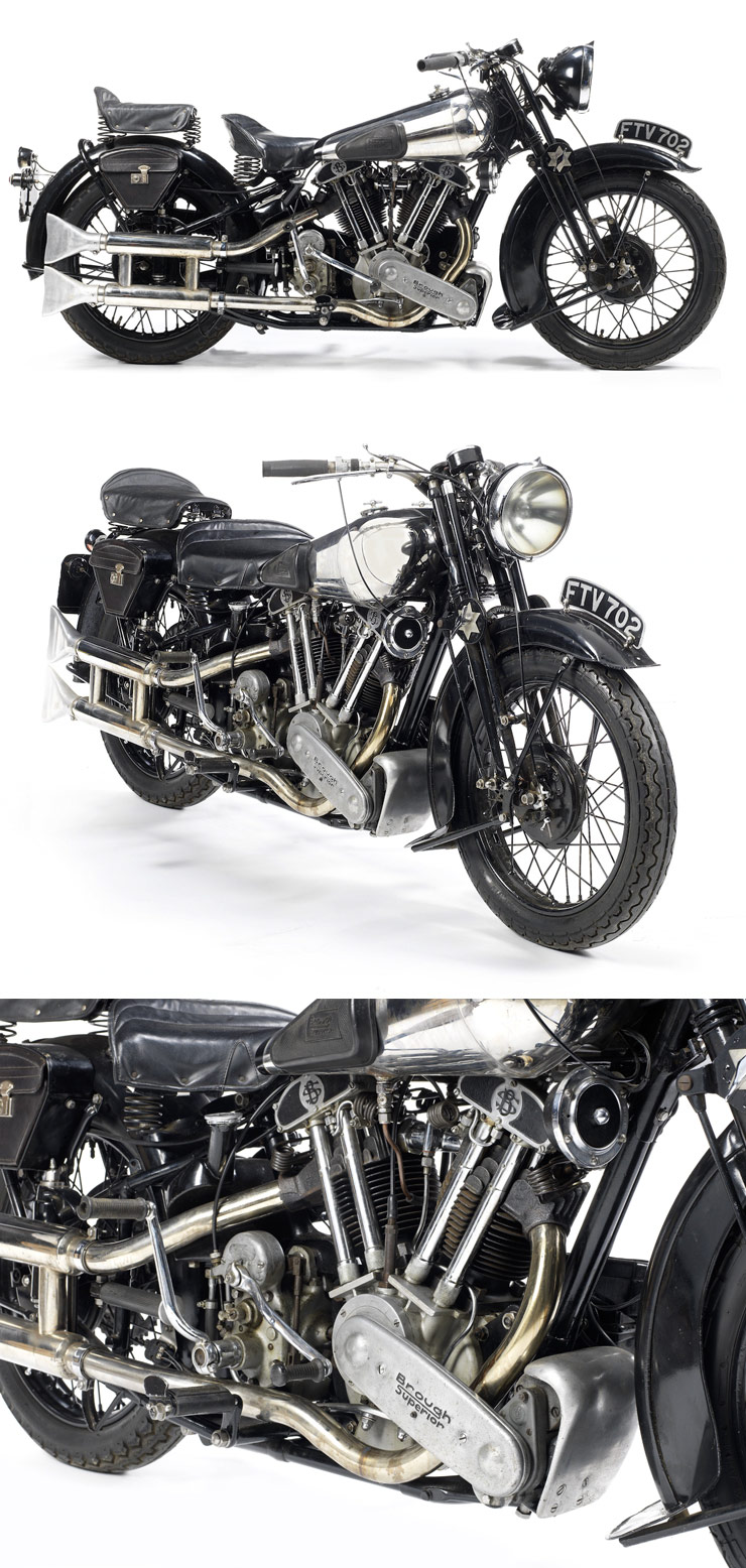 1939 Brough Superior SS100 :: Via Bonhams