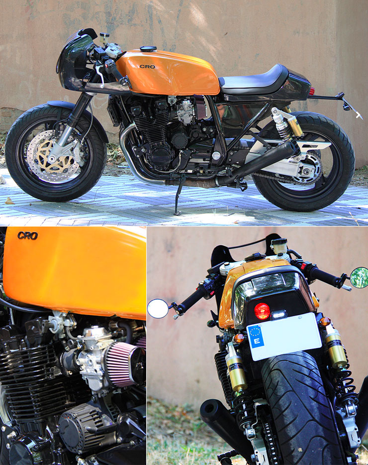 1998 Yamaha XJR1200 by Cafe Racer Obsession :: via Inazuma Cafe