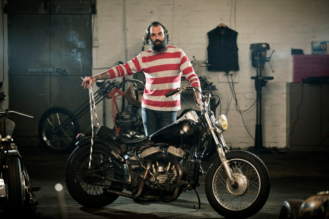 Benny Thomas of Boneshaker Choppers