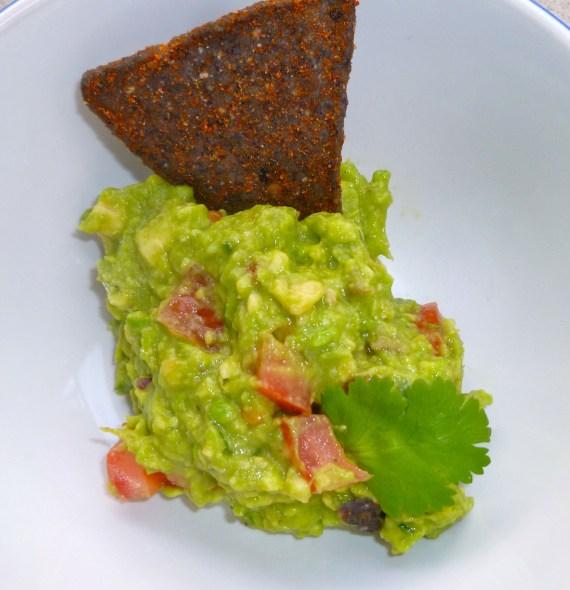 Healthy Game Day Guacamole