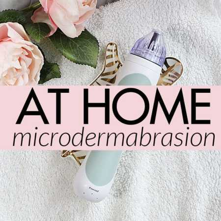 At Home Microdermabrasion with PMD