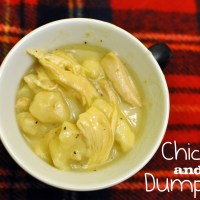 Cracker Barrel Chicken and Dumplings