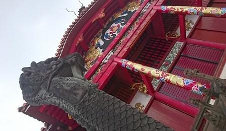 琉球と交易を重ねていた中国文化の影響を受けた世界遺産です。