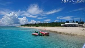 水納島の海の美しさは圧巻です!