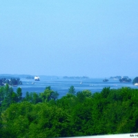 View from 1000 Islands Bridge