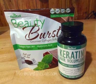 Beauty Bursts and Keratin Pills