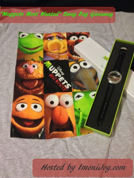 Muppets Most Wanted  Swag Bag Giveaway