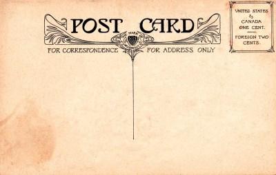Vintage Postal Charm | mehker