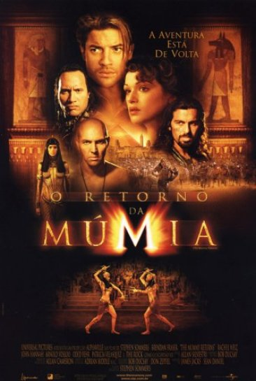 o retorno da múmia
