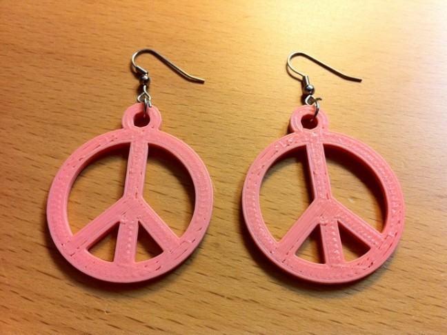 Paz e amor em três dimensões. (Créditos: Tony Buser/Thingiverse)