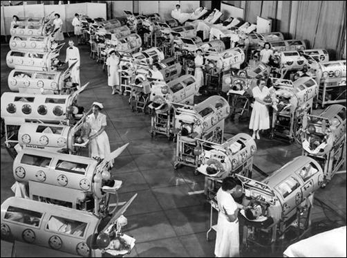 iron-lung-ward-for-polio-victims