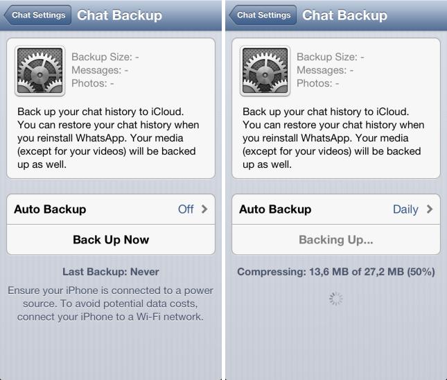 Whatsapp icloud backup security number