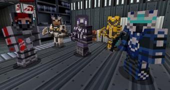 Minecraft ganhará DLC baseado na série Mass Effect