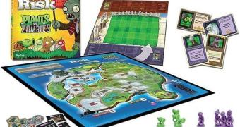 Um RISK/War baseado no Plants vs. Zombies