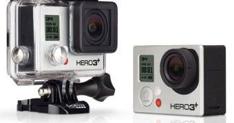 GoPro Hero 3+  – menor, mais leve, mais poderosa ainda.