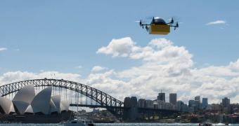 Empresa australiana lança tele-entrega de livros via drones