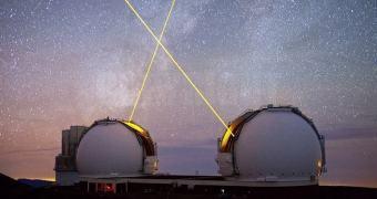 O vídeo mais lindo de astronomia com lasers que você verá hoje
