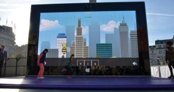 Microsoft instala Surface 2 gigante no meio de Londres