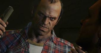Uma velhinha arruaceira e o Grand Theft Auto V
