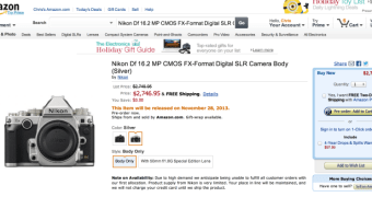 "Nikon DF aparece ""acidentalmente"" na Amazon"