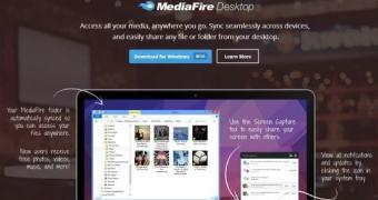 MediaFire Desktop permite sincronizar seus arquivos entre a nuvem, desktop e gadgets