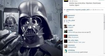 Star Wars chega ao Instagram