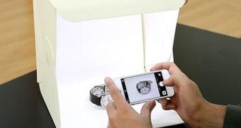 Foldio – estúdio para Smartphone